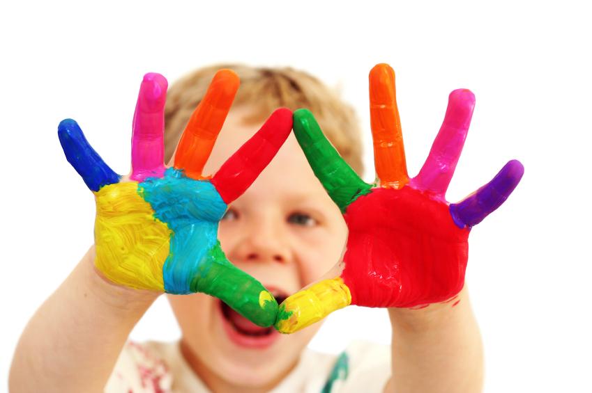 Natural Ways To Make Baby Handprints
