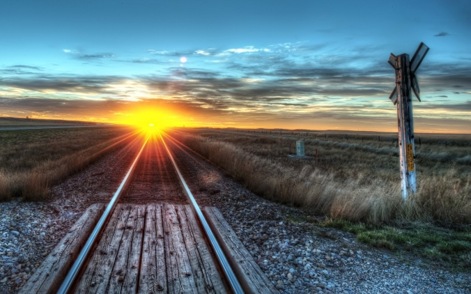 amazing-sunrise-on-the-track-hdr-250896
