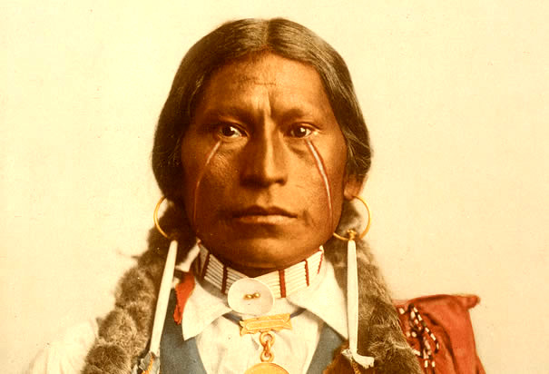 Native_American Indian_Color_apache-chief