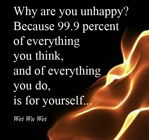 why are you unhappy