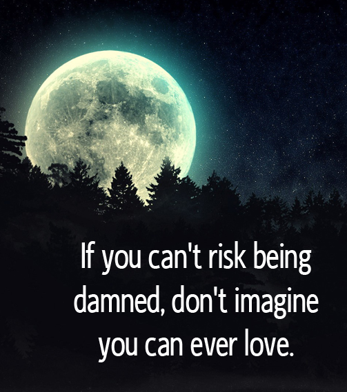 if you can't risk